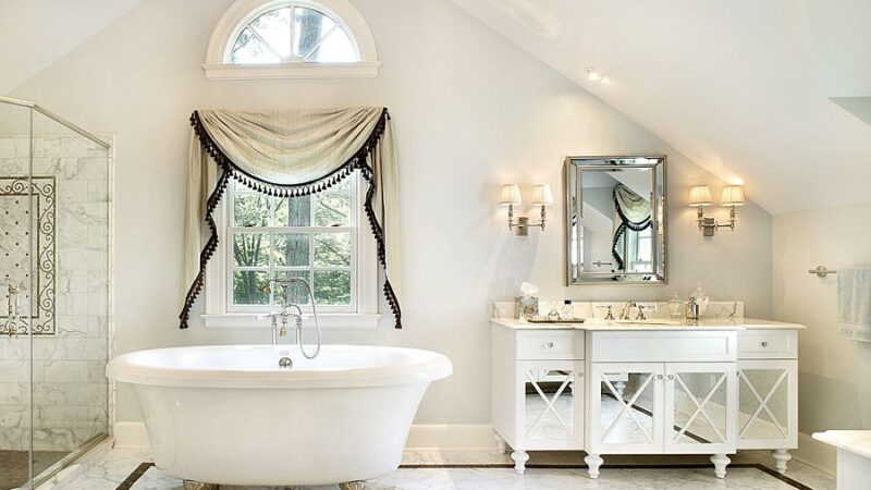 shabby chic bathroom accessories and decor