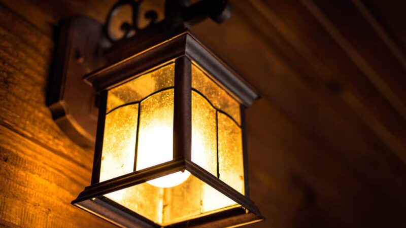 Porch light color meaning and its significance