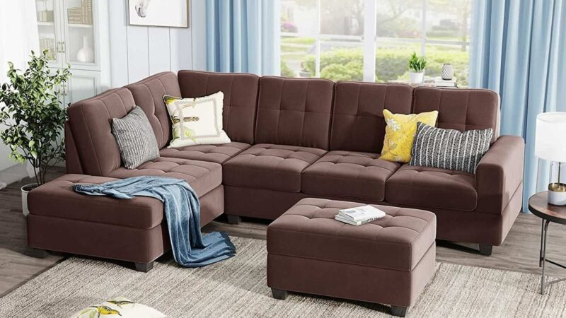 CHESTER PULLOUT SOFA CHAISE