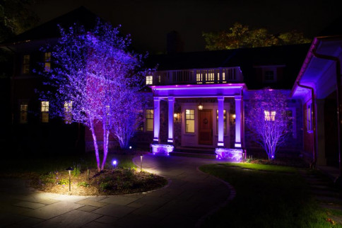4 reasons why your neighbour has purple porch light – purple porch light meaning